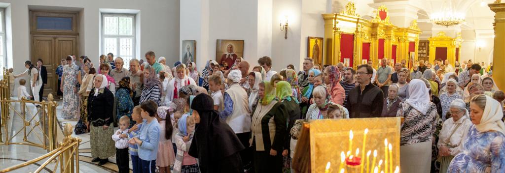Престольный праздник 12 июля